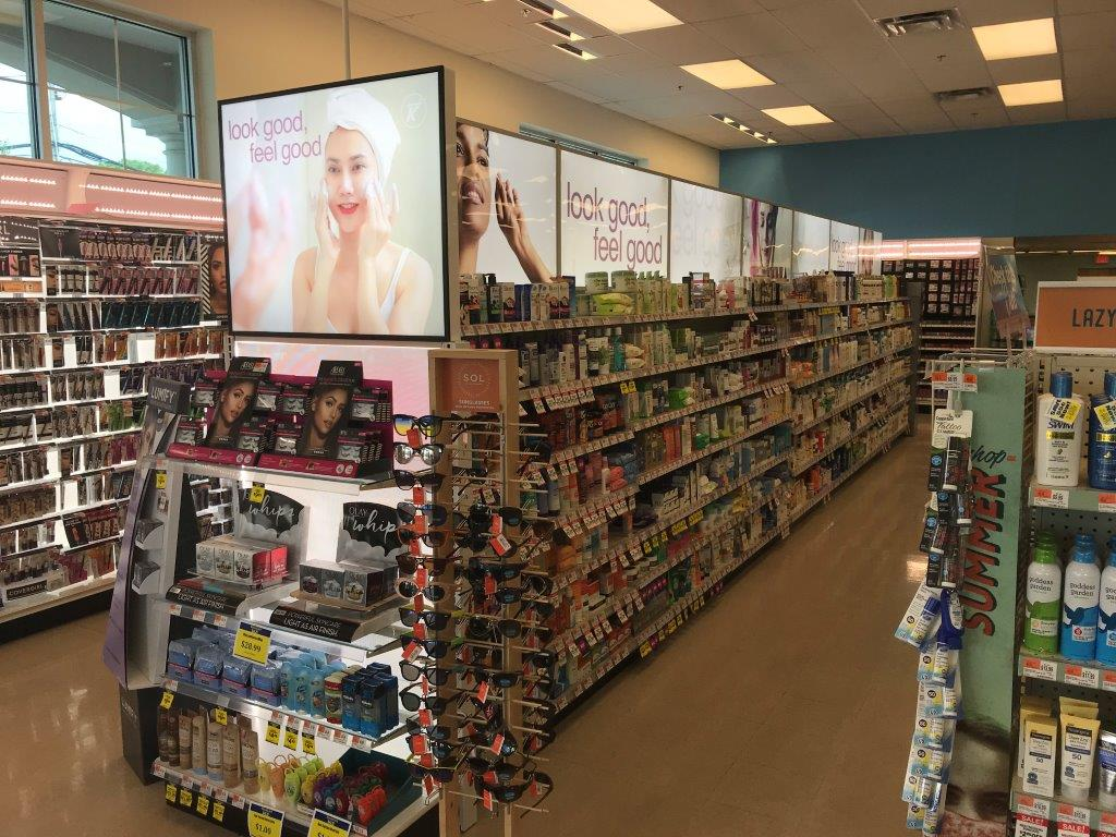 NORTHEAST DRUG STORE RETAILER--BEAUTY, LED PANELS
