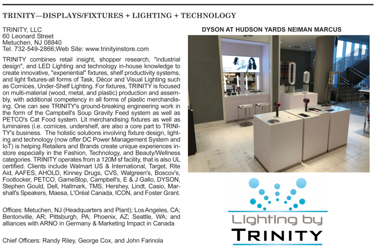 TRINITY ranked in Top 50 P O P  Companies | Retail Display