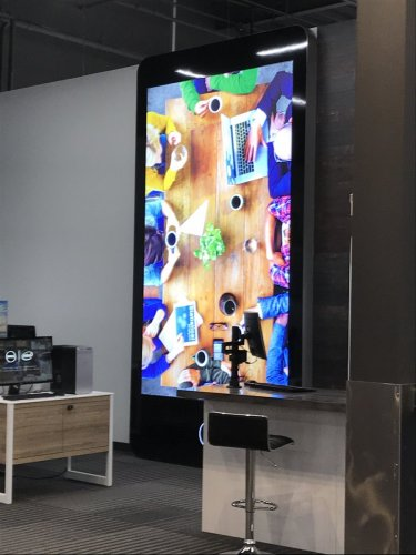 13'x7' LIT TABLET, OFFICE SUPERSTORE