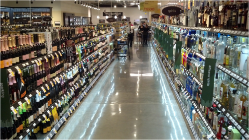 UNDERSHELF LED LIGHTING - SPIRITS, WINE & BEER